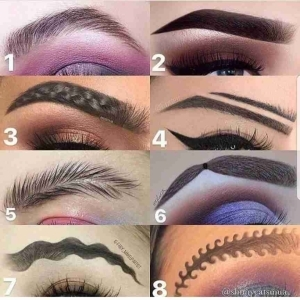 Which Of These Eyebrows Do You Prefer?